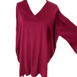 Style & Co Loose V Neck Sweater